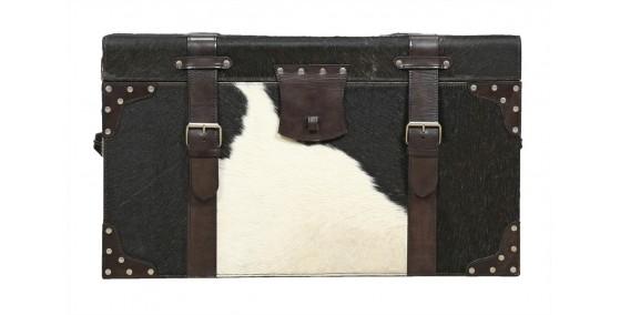 Austin Leather Trunk
