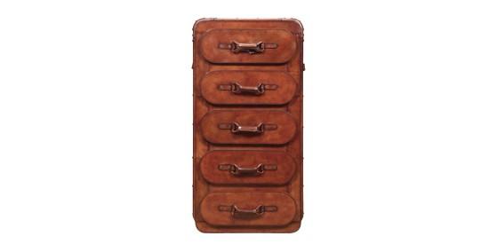Kai Leather Cabinet