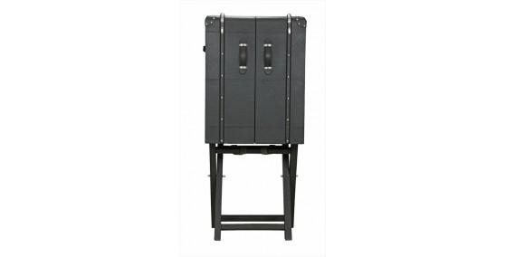 Zara Leather Bar Cabinet