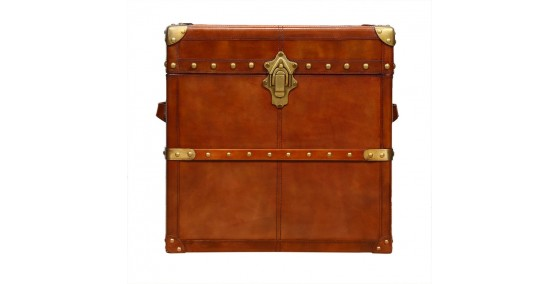 Toby Leather Trunk
