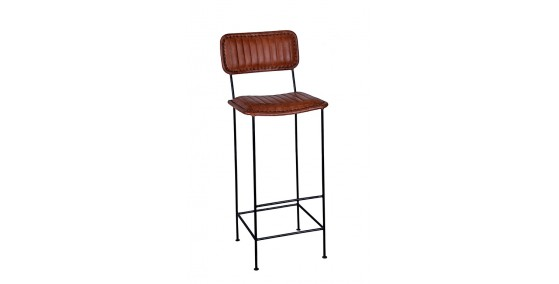 Envy Leather Bar Chair