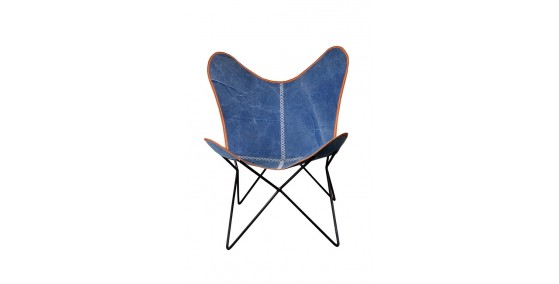 Norway Leather Butterfly Chair