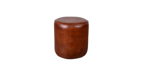 Boston Leather Stool