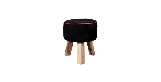 Genesis Leather Stool