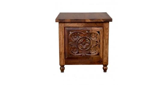 Jaxon Sheesham Wood Side Table