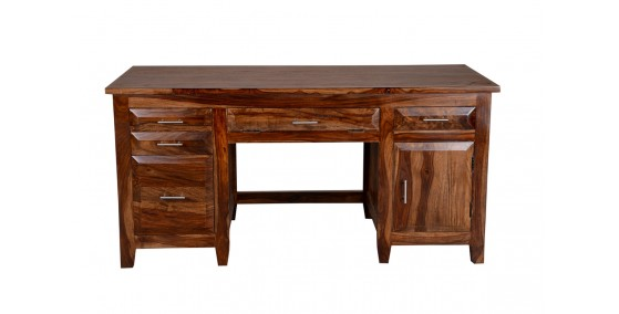 Martin Sheesham Wood Writing Desk