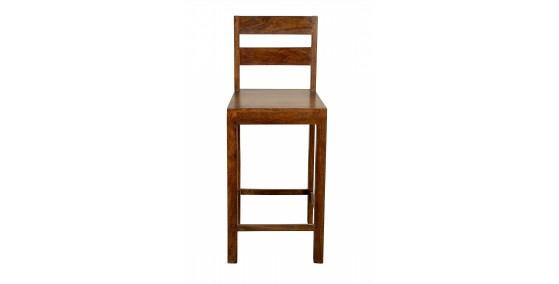 Irina Sheesham Wood Bar Chair
