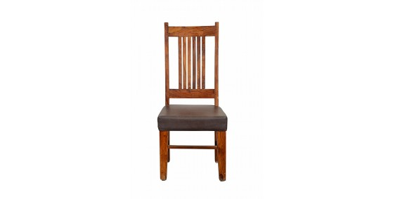 Charles Sheesham Wood Dining Chair