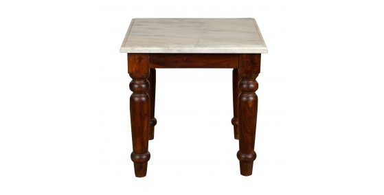 Clark Marble Top Side Table