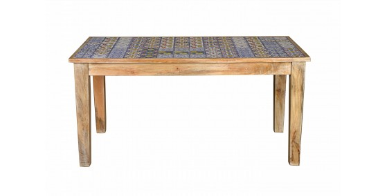 Mistress Tile Inlay Dining Table