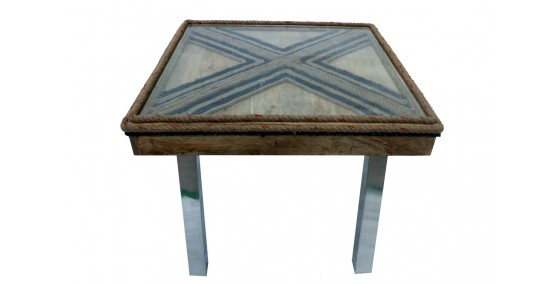 Taylor Jute Work Dining Table