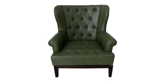 Serene Leather Sofa Chair