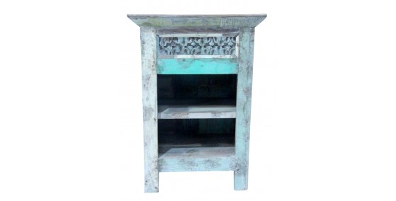 Pride Recycled Wood Side Table