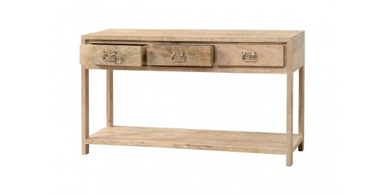 Sophie Sheesham Wood Console Table