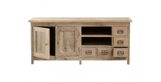 Charlotte Sheesham Wood Tv Unit