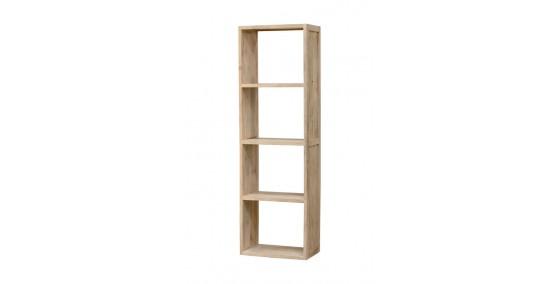 Scarlett Sheesham Wood Open Book Shelf