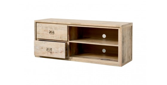 Alexandra Sheesham Wood Tv Unit