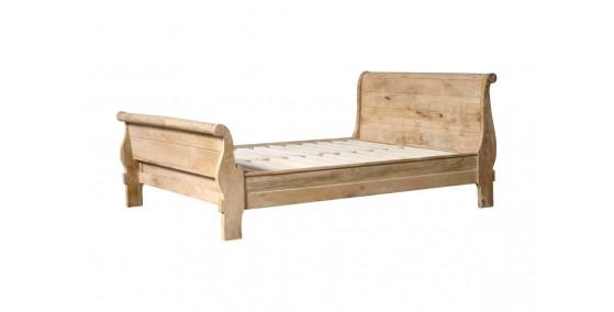 Helene Sheesham Wood Queen Bed