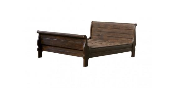 Hudson Sheesham Wood Queen Bed