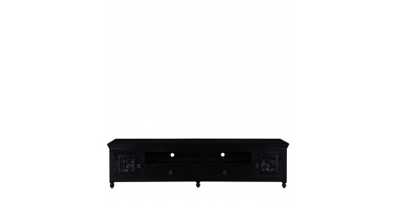 Anne Sheesham Wood Tv Unit