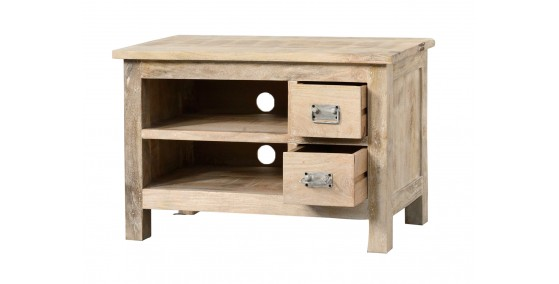 Tom Sheesham Wood Tv Unit