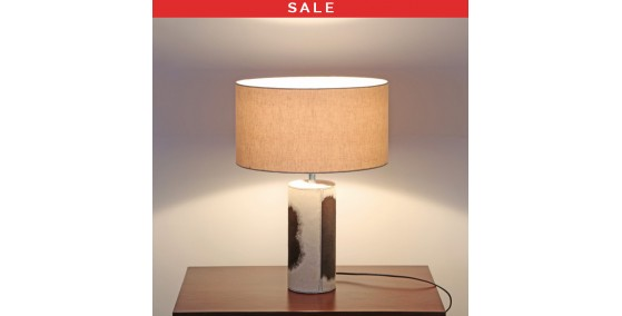 Herzog Leather Table Lamp